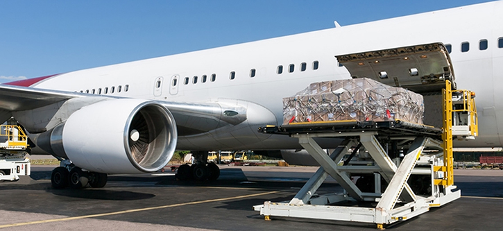 Air freight import export logistics